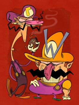 The Wario Bros. by Themrock