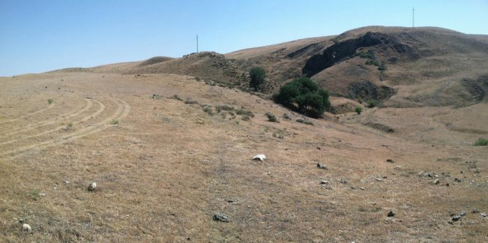 The San Andreas Fault, Davis Rd, Cholame Valley by ONLYoneCANNOLI