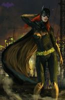 Batgirl by Ron-faure