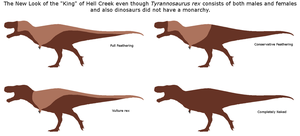 How feathered was T. rex? by Veterufreak