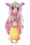 Chibi Flavie by Elythe