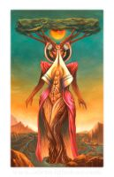 YeYo, The Mother Goddess by Odyism