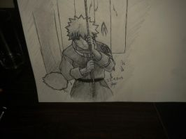 naruto swing inked and shaded :) by Xezn
