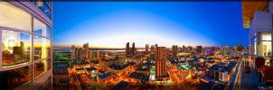San Diego Skyline. In The City by timothylgreen