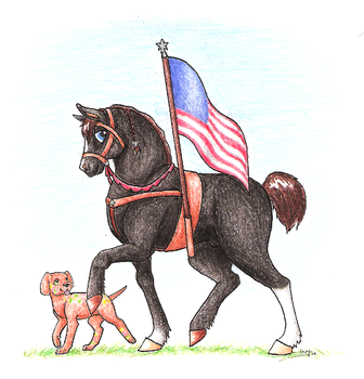 Contest: Salute to Old Glory by Dragonheart-Stables