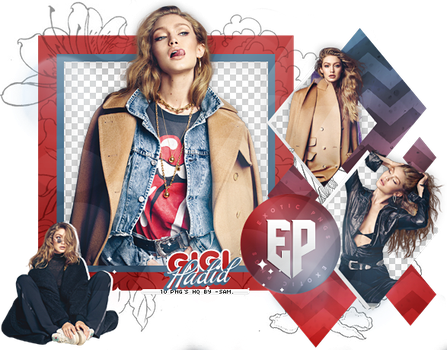 Pack Png 2228 // Gigi Hadid. by ExoticPngs