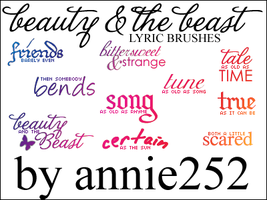 Beauty and the Beast Brushes01 by annie252