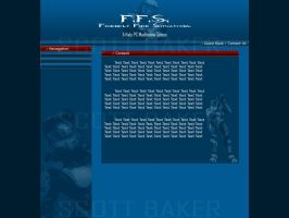 F.F.S Web Design by GrotesqueArtist