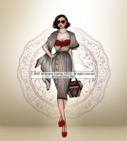 Autumn Collection 04 - 01 - Lady with the Bag by AlexandraVeda