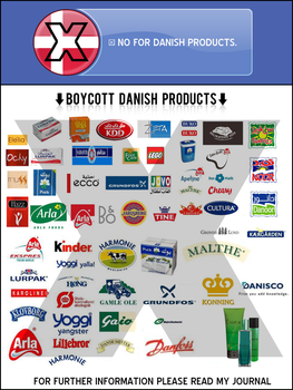 BOYCOTT DANISH PRODUCTS 2 by opelman