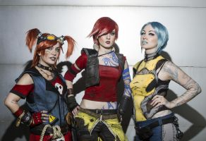 Of Sirens and Mechromancer [Borderlands 2] by Saerithi