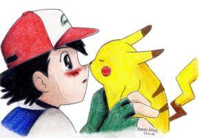 Pikachu loves you, man by BloodyButterfly-wp