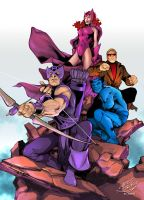 Avengers from Carlos Pacheco by acosorio