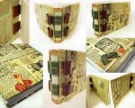 Paper Doll Strap Book by sweet-travesty