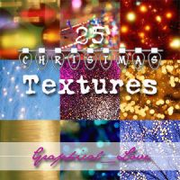 Christmas Textures 100x100 by lisaedson
