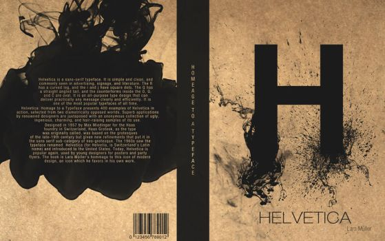 Helvetica Book Cover by Trosious