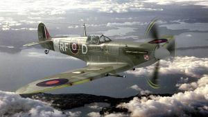 Spitfire MkV of the 303 squadron by melkorius