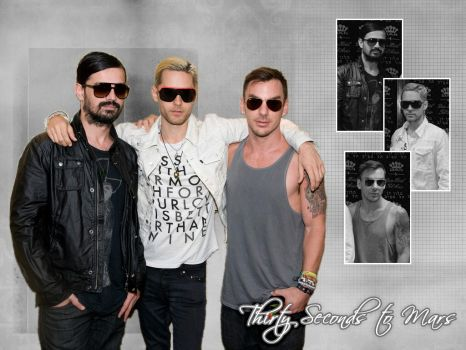 30 Seconds to Mars Wall 216 by martiansoldier