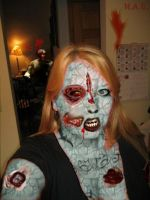 Mom Zombie by overseern