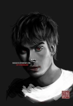 Ian Somerhalder - Drawing :For Sally: by MakaiAsh