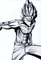 Son Goku - DBZ by Lanky-Nathan
