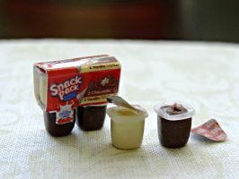 Snack Pack Pudding Cups by minivenger