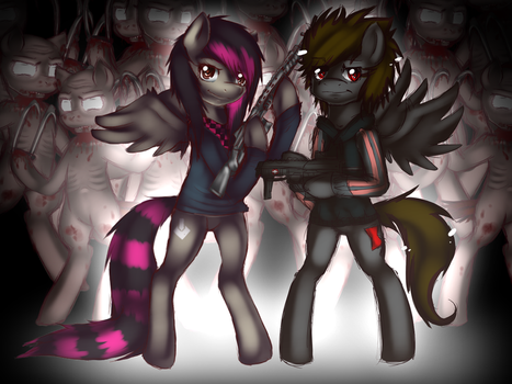 MLKF: Mixi and Gotae character preview by MixAlanaPony