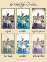 Photoshop Action Set 4 by Whimsical-Dreams