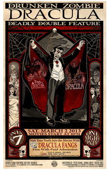 Dracula Films featured at the DZDDF by DGGibbons
