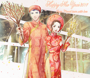 Happy Lunar New Year! by Solchan