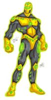 Kryptonian Buster Iron Man by PDInk