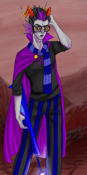 :homestuck: Eridan is not cool by Pancake-fairy