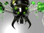 Mechanical Spider Close Up by Ven0mSevenX