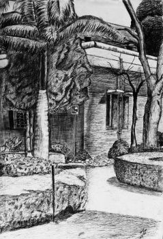 landscape hatching by Mohit Kumar Rao by mohitkumarrao