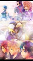 Together Forever - Kingdom Hearts Trios by tian-cai