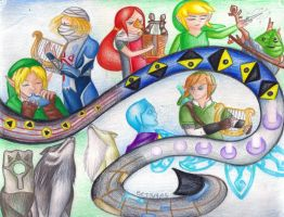 Songs Through the Ages by HyruleandHogwarts
