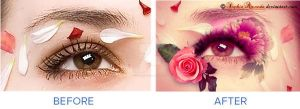 Roses Eye by SophiaAmanda