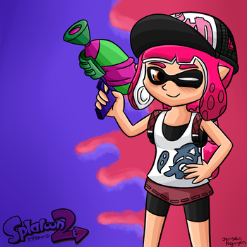 Splatoon 2: Time for release day! by thegamingdrawer