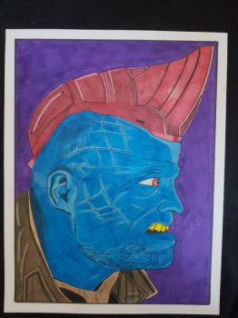 yondu guardians of the galaxy. day 6 of 7 by yorkshirepudding1990