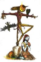 Jack and Sally by Anarchpeace