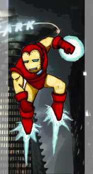 Classic Mini Iron Man by Brett-Mott