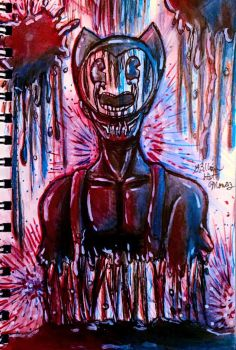 Red, Ink and Blue by Y3llowHatMous3