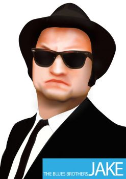 Blues Brothers Jake by timonna