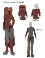 Callipso's Armour Design by Nefthys