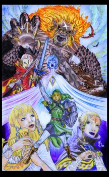Legend of Zelda Skyward Sword by Lead-Base