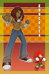 Human!Knuckles by SimonSoys