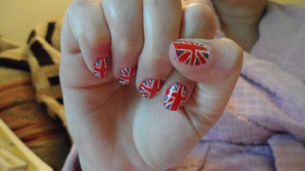 Union Jack Nails by Cooldawg