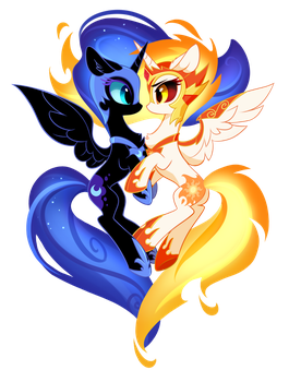 Opposites Attract by tomatocoup