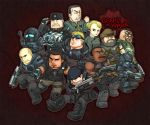 gears of war:COG TEAM by KEISUKEgumby