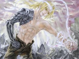The first wallpaper of FMA by mepty